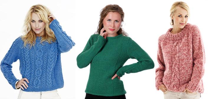 Sticka tröja | Stickbeskrivning Hippstick